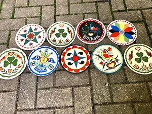 9 Vintage Zook PA Dutch German Barn Hex Signs