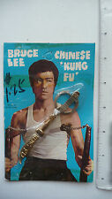 RARE - 1970s Bruce Lee Keychain Broadsword - SEALED