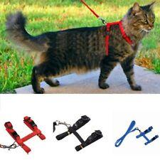 New listing Pet Cat Kitten Adjustable Control Harness Nylon Lead Leash Collar Belt Strap
