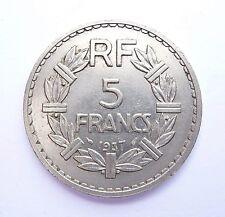 5 francs LAVRILLIER 1937
