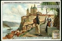 Melk Abbey Austria Architecture Danube Germany c1910 Trade Ad Card