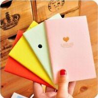 FD1027 Student Diary Note Book Peach Korea Stationery Memo Notepad Random 1pc:)