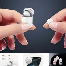 New listing Mini Invisible Twin-ear Bluetooth Earphone with Mic earbuds Free Shipping