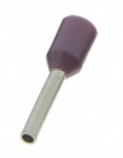 BizLine BOOT LACE PINS 0.25mm² 100Pcs Crimp Connection, Nylon Insulation VIOLET