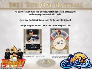 NEW YORK YANKEES 2021 Topps Tier One Baseball 12-Box Case Break #2