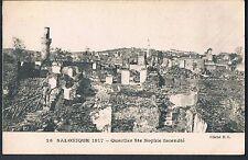 FRENCH POSTCARD Great Thessaloniki Fire of 1917 SAINT SOPHIA