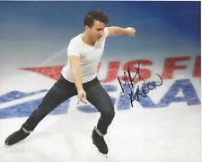 MAX AARON figure skating signed 8 x 10 Photo TEAM USA Olympics FREE SHIPPING