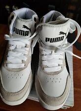 Puma 36391601 Kids Rebound Street v2 Sneaker-white/blue size 5c