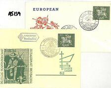 Germany BOY SCOUT CARDS{2} Bendorf St Georgstag 1961 {samwells-covers}AJ239