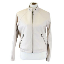 New Coach Women's Varsity Butterly Leather Jacket 85585 Pale Pink $1200 Small