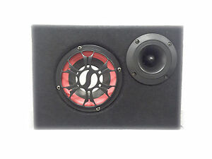 SUBWOOFER BLUETOOTH CASSA SPEAKER AMPLIFICATO X CASA E AUTO 100W TWEETER USB SD