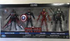 Marvel Legends Civil War Iron Man Falcon War Machine Captain America 4 Figure