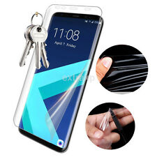 1Pc Soft Full TPU Clear Screen Protector Film For Samsung S6 Edge S7 S8 Plus CA