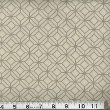 princess_trunk New Mod Lattice Taupe Quilting Fabric 100% Cotton Sold By Yard
