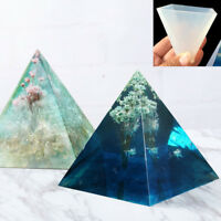 White Pyramid Silicone Mould DIY Resin Decorative Mold Craft Jewelry Making Mold