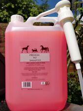 Dog/pet shampoo 5L Japanese cherry blossom with new easy use pump dispenser