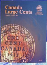 Whitman Canada Large Cents Collection 1858-1920 Coin Folder, Album/Book #2478