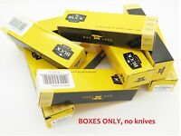 "Pack of 9 BUCK 4.5"" long KNIFE BOX FOLDING POCKET KNIFE THE 55 505 503 301"