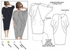 MLBW00... Free UK P/&P Style Arc Ladies Easy Sewing Pattern Jane Overshirt