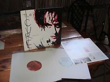 THE CURE BLOODFLOWERS UK 1st press LP x2 VG+ NM- w/insert DARK GOTHIC SIOUXIE
