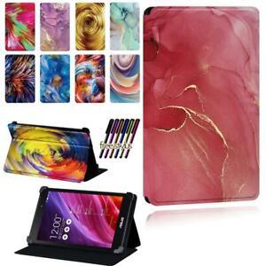 Watercolor Flip Smart Stand Case Cover Fit Asus MEMO Pad 7 /8 /10 /Pad HD 7+ Pen