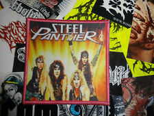 Steel Panther Patch Glam Hair Metal Poison XX Pink Border