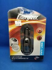 Energizer Car Charger With Illuminated Tip - Mini USB NEW! ENG-CLA003