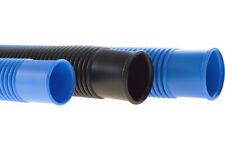 Schwimmbadschlauch Poolschlauch mit Muffe, schwarz, blau - Meterware