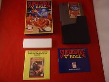Super Spike V'Ball Nintendo NES 1990 COMPLETE w Box manual Superspike Volleyball