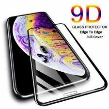 For Apple iPhone 12 11 Pro Max X 6 7 8 Plus Full Tempered Glass Screen Protector