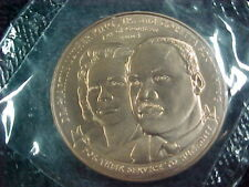 "DR MARTIN LUTHER. KING & CORETTA SCOTT KING - 1 1/2""  MEDAL FROM US MINT"