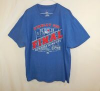 New York Rangers 2014 Stanley Cup NHL Hockey T Shirt Majestic EXTRA LARGE XL