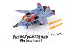 Starscream 100% Complete Voyager Animated Transformers