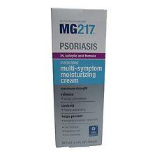 MG-217 Psoriasis Medicated Multi-Symptom Moisturizing Cream, Max Strength 3.5 oz