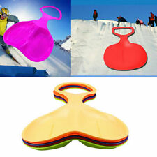 Outdoor Winter Plastic Grass Skiing Sled Board Snow Sledge Snowboard Ski Board