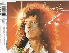 BRIAN MAY too much love will kill you CD MAXI uk queen
