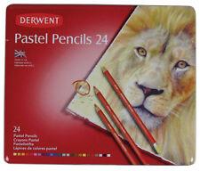 Derwent Pastel Lápices 24 Color Tin-nuevo más suave Gama