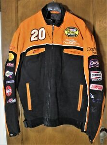 Nascar Home Depot Tony Stewart XXL Chase Authentics Wilsons Suede Leather jacket