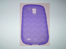 Verizon Silicone Cover for Samsung Galaxy S3 Mini, Purple one part sli
