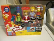 Playmates The Simpsons Interactive FAMILY CHRISTMAS ENVIRONMENT