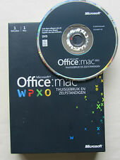 Microsoft Office for Mac 2011 Home and Business Word Excel W6F-00064 Genuine