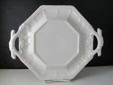 """RED CLIFF GRAPE HANDLED PLATE / TUREEN UNDER PLATE - 12 1/2"""""""