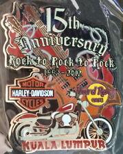 Hard Rock Cafe KUALA LUMPUR 2012 15th Anniversary of Rock to Rock Harley #70140