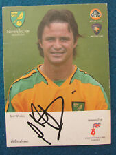 More details for hand signed - phil mulryne - norwich city - 6