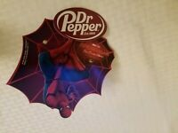 Spider man Far From Home Dr pepper coca cola cooler door cling Marvel Studios