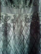 BNWT Monsoon Alexis Dress Silver Grey Size 10