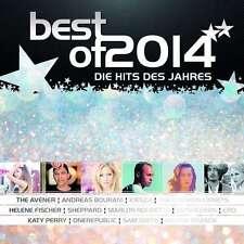 BEST OF 2014 - DIE HITS DES JAHRES * NEW 2CD'S 2014 * NEU *
