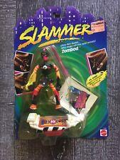 Vintage 1990's Mattel SLAMMERS NOC Skateboard Figure Weird Gross ZOMBOD