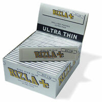 15 Booklets RIZLA SILVER KING SIZE SLIM ROLLING PAPERS Smoking Rolling Papers