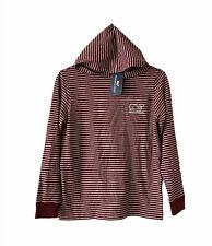 Vineyard Vines Boys Hoodie Stripe Shirt Sz M 12-14 NEW